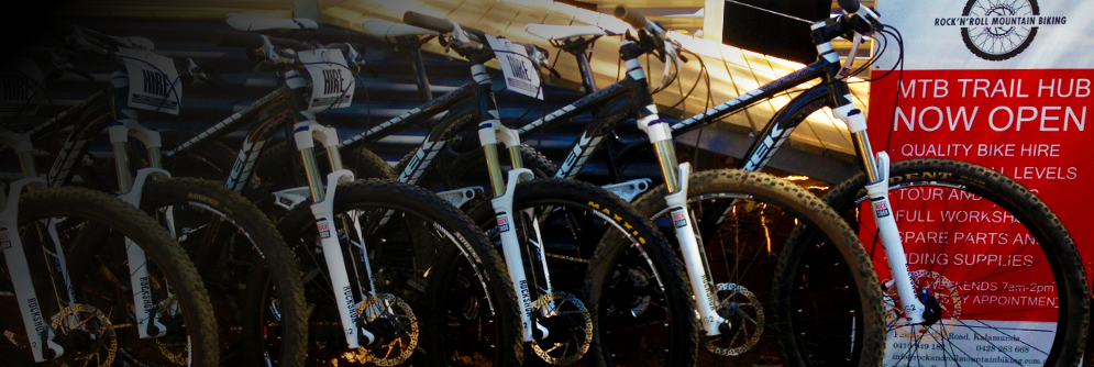Rock and Roll Mountain Bike Hire